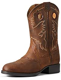 Kids' Heritage Stockman Western Boot