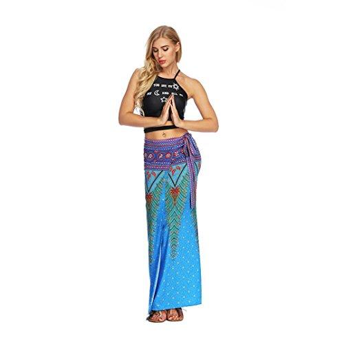 t Femmes Les Jupe Boho Femme Casual Longue Harem Fathoit Noire Aladdin Boheme Bleu LaChe Jupe Ete Pantalons Clair Yoga Baggy w0qzFfBRx