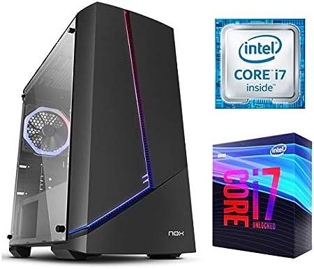 Megamania - Ordenador de Sombremesa PC Gaming ATX Nox Infinity Alpha LED (D_Raptor S4): Amazon.es: Informática