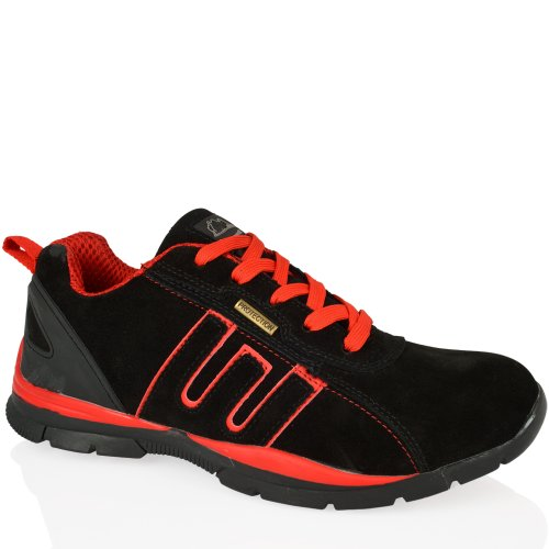 Seguridad Black Zapatillas Groundwork Unisex Suede Gr86 red De Negro twTxZaqY