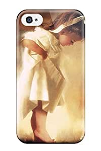 diy phone caseFlexible Tpu Back Case Cover For Iphone 4/4s - Childhood Painting Abstract Paintingdiy phone case