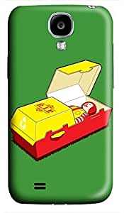 Samsung S4 case fancy cases Dead Ronald Mcdonalds (10 Piece) Funny 3D cover custom Samsung S4