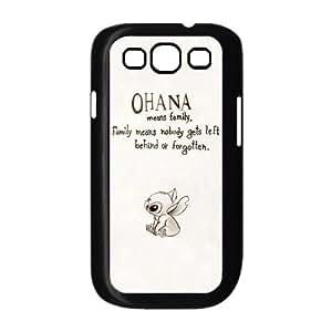 Custom s3 Case Lilo & Stitch Desgin Phone Cover Plastic Protective Skin Case For Samsung Galaxy S3 s3-850 Kimberly Kurzendoerfer