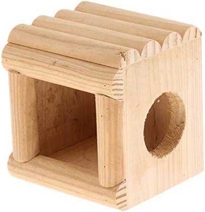 Flameer Hamsterkussen van hout voor hamsters konijnen 9 x 85 x 10 cm2