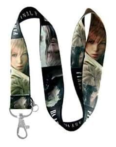 Final Fantasy VII lanyard keychain holder