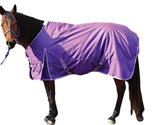 Professionals Choice 1200D Turnout Blanket 74 Purp by Professional's Choice