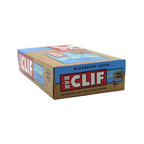 Clif Bars Cliff Bar Organic Blueberry Crisp, Blueberry Crisp (Case of 12) 2.4 Oz by Clif Bars