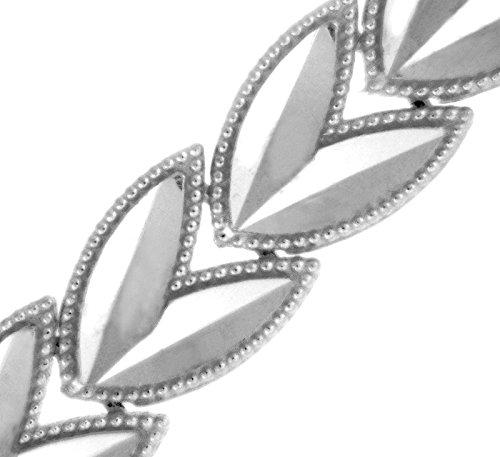 Petits Merveilles D'amour - 10 ct Or Blanc Bracelet - Tulpe Bracelet