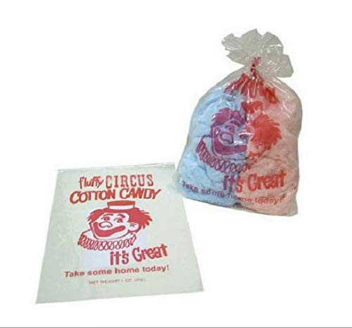 (An Item of Gold Medal Plastic Cotton Candy Bags (1,000 ct.) - Pack of 1 - Bulk Disc)