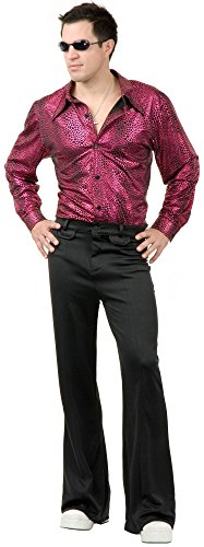 [Disco Shirt Costume - X-Large - Chest Size 44] (Mens Disco Costumes Pants)