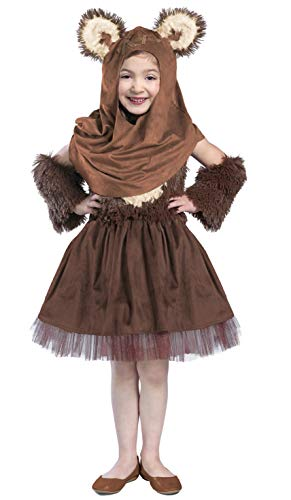 Princess Paradise Classic Star Wars Wicket Dress Costume, X-Small Brown]()