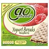 Go Ahead Yogurt Breaks Raspberry 6 X 2 Pack 216G For Sale