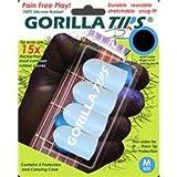 Medium Clear GORILLA TIPS fingertip guards/protectors for Guitar, Banjo, mandolin, etc., Best Gadgets