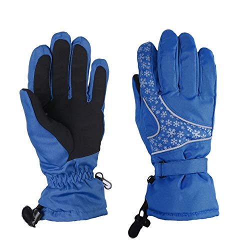Qewmsg Windproof Waterproof Snowboard Snowmobile Motorcycle Riding Winter Ski Gloves