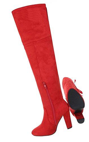 High Stiefel Overknee Damen Schuhe Heels Tqw4ttCnW