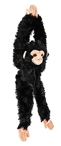 nging Stuffed Chimpanzee Plush Primate Heirloom Collection Chimp ()