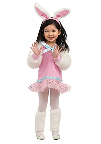 Rubie's Let's Pretend Pink Bunny Costume - Toddler (1- 2 Years) (Bunny For Halloween)