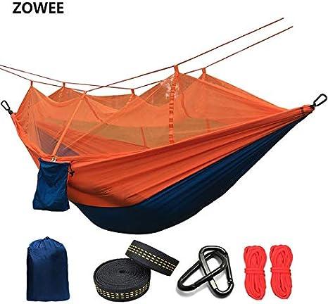Travel Camping Hammock, Ultralight Mosquito Net Parachute