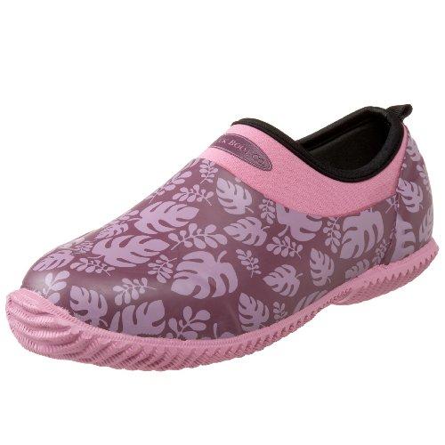 The Original MuckBoots Daily Garden Shoe,Wineberry Palm,4 M US Womens