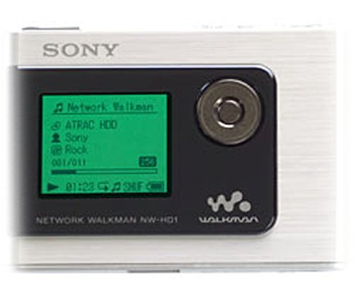 Sony NW-HD1 20 GB Network Walkman Digita - Sony Network Walkman Shopping Results