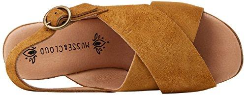 MUSSE & CLOUD Women's Ivory Platform Sandals Brown (Cue 300) FNy0p
