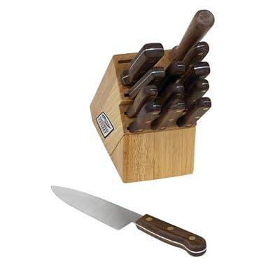 Chicago Cutlery Walnut Tradition 14-Piece Block Set