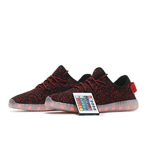 226652b76fa00 on sale LEDANCE Unisex Men Women Kid LED Sport Shoes Breathable Child LED  Shoes With Remote Controller
