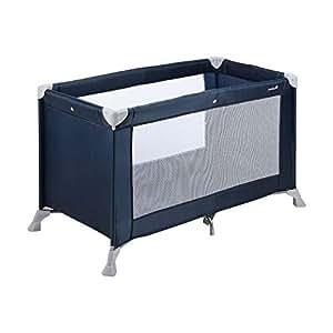 Safety 1st Soft Dreams 21125550 Cuna de viaje compacta, fácil de transportar, ligera, color azul (Navy Blue) [Modelo antiguo]