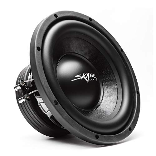 Skar Audio IVX-10v2 D2 10″ 800W Max Power Dual 2 Ohm Subwoofer