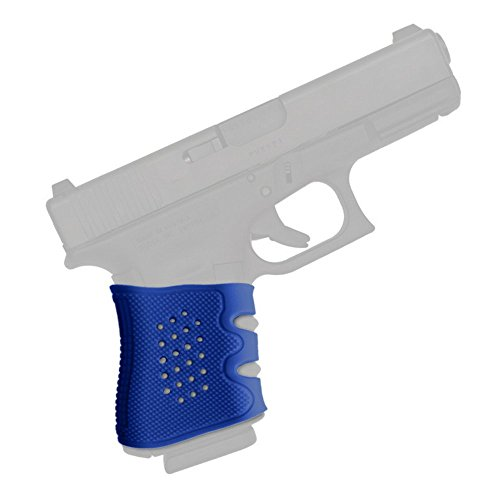 Glock Grip Sleeve ✮ The Ultimate Silicone Rubber Sleeve ✮ Fits GLOCK 17 / 19 / 20 / 21 / 22 / 23 / 31 / 32 / 37 / 38 ✮ (Blue)