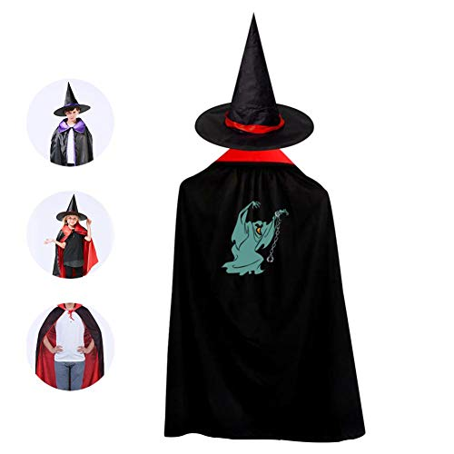 69PF-1 Halloween Cape Matching Witch Hat Shackles Monster