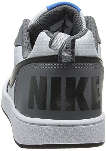 Gris Zapatos Borough anthracite gs Nike Baloncesto Platinum Court Grey Low pure cool 006 Para Niñas De a1wqzIq