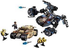 LEGO The Bat vs Bane Tumbler Chase 76001 Batman Commissioner Gordon DC versus