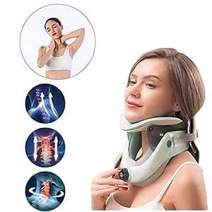 JPJINGZHUI Dispositivo de tracción Cervical Collarín Cervical ...