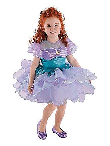[Ariel Ballerina Classic Costume - Toddler Medium] (Ariel Costumes Toddler)
