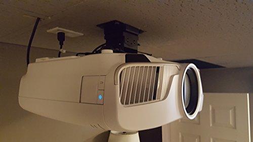 Epson 5040UB Projector Ceiling Mount V2 by Vega AV Systems by Vega A/V Systems