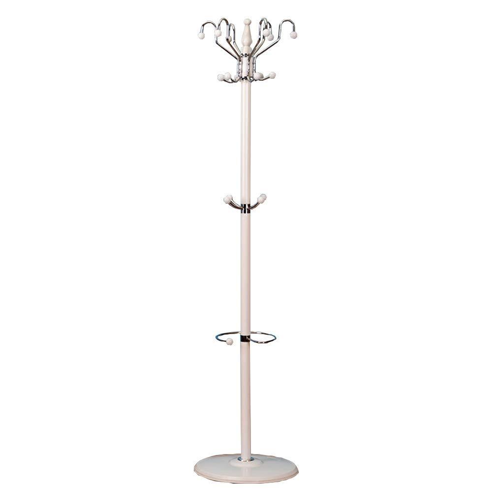 B DYR Hanger for Hats, 16 Hooks Durable Swivel Coat Hooks Hanger for Umbrella Stands Hooks Office Input 40  40  175cm (color  B)