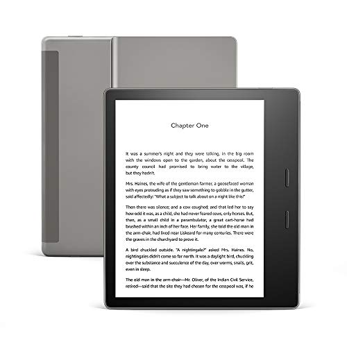 All-new Kindle Oasis - Now with adjustable warm light - 8 GB, Wi-Fi