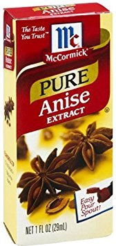 - McCormick Pure Anise Extract 1fl.oz. (Quantity of 2)