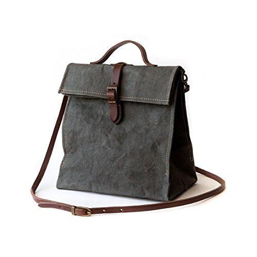 Lunch Bag Tracolla UASHMAMA Dark Grey