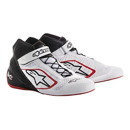 Price comparison product image Alpinestars 2713018-213-11.5 Tech 1-KZ Shoes,  White / Black / Red,  Size 11.5