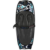 SereneLife Water Sport Kneeboard with Hook for Kids & Adults, Kneeboard with Strap for Boating, Waterboarding, Kneeling Boogie Boarding, Knee Surfing, (SLKB10)