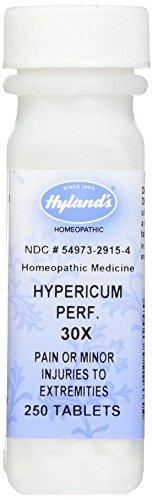 Hyland's Hypericum Perf, 30X, Tablets, 250 Tablets
