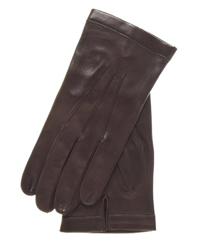 Fratelli Orsini Men's Italian Unlined Leather Gloves Size 9 Color Brown