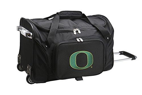 NCAA Oregon Ducks Duffel Bag, 22-Inch, Black