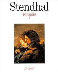 Romans, tome 1 par  Stendhal