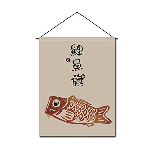 FANCY PUMPKIN Japanese Interior Restaurant Design Decorative Flags Banners for Home/Bar/Restaurant/Shop Decor, E-15