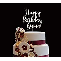 Personalized Birthday Cake Topper, Wooden Cake Toppers, Customized Name Cake Topper