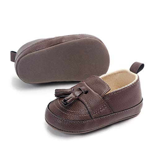 Csfry Infant Toddler Baby Boys Soft Moccasinss Crib Shoes - Boys For Shoes Baby Crib