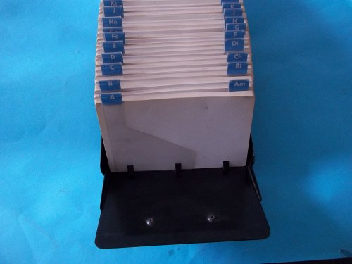 - Bates, B-File, Card File, View File, 1000 Cards, 5